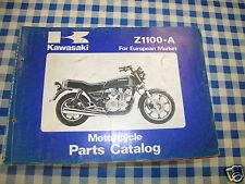 BB 99910-1183-01 catalogue pièces de rechange KAWASAKI Z1100-A ediz. 1981