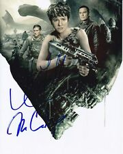 KATHERINE WATERSTON MICHAEL FASSBENDER BILLY CRUDUP Signed ALIEN: COVENANT Photo