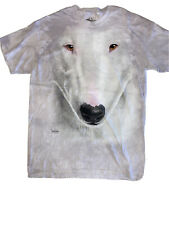 The Mountain Pitbull Dog Face T-Shirt New Size Large