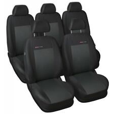 Ford C-Max 2003-2010 Maßgefertigt Maß Sitzbezüge Sitzbezug Velours grau