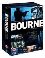 JASON BOURNE ALL 4-MOVIES COLLECTION QUADRILOGY DVD BOX SET FILMS NEW UK R2 DVD