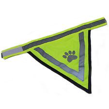 Sicherheits Halstuch reflektierend Tuch Hunde Dreieckstuch Bandana Halsband