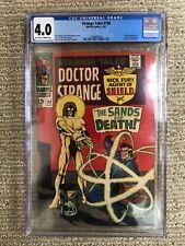 Strange Tales #158 Marvel Silver Age Comic CGC 4.0 First Living Tribunal