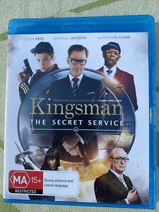 Kingsman: The Secret Service Blu-Ray Disc Movie. Free Postage. Rated MA15+.