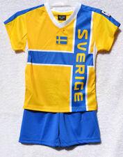 134/140 Suède tricot pour enfants avec pantalon