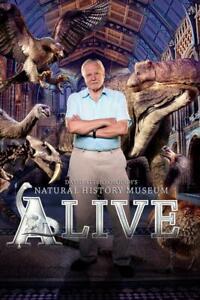 DAVID ATTENBOROUGH'S NATURAL HISTORY MUSEUM ALIVE DVD