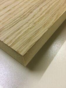 White Oak Veneered MDF 10mm thick 24 @ 80 x 300mm & 30 @ 600 x 300mm EAR
