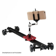 Kamerar SD-1 MKII Dolly Video Camera Slider Free 7in Friction Arm & Phone Holder
