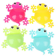 Cartoon Gecko Toothbrush Holder Wall Suction Hook Tooth Brush Home Kids Bathr ZT