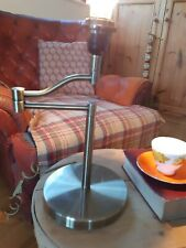 Vintage Brass Style Swing Arm Lamp  Desk Bedside Sidetable Reading Lamp