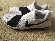 Nike 'Free Connect' Training Shoe Slip On - Black / White - Womens Sz 10 New