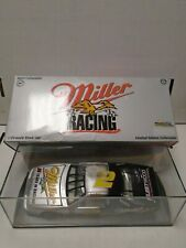 Rusty Wallace Miller Racing 1:24 Scale Die Cast w/Display Case 101419AMCAR2
