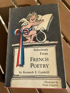 Selections From French Poetry HB by Kenneth F. Canfield Vintage 1965
