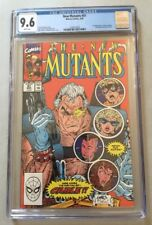 New Mutants, Vol 1, #87, 3/1990 CGC 9.6, White Pages, 1st First Appearance Cable