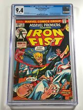 Marvel Premiere #15 CGC 9.4 MARK JEWELERS VARIANT - 1st Iron Fist - 1972