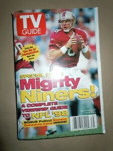 TV GUIDE - 1998 NFL Preview San Francisco 49ers Cover STEVE YOUNG