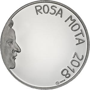 Ek // 7,50 Euro Argent BE Portugal 2018 Rosa Mota