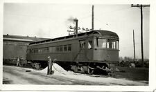 6K414 RP 1940s? INDIANA RAILROAD CAR #448 ANDERSON IN
