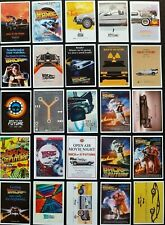 Back To The Future Stickers 25 PCE Skate Laptop PC Car Decal Cult Movie Poster