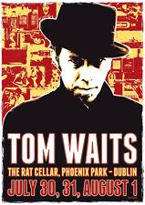 Tom Waits Repro Tour Poster Dublin