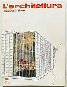L'architettura cronache e storia 260 1977 Bruno Zevi Alvar Aalto Luigi Cosenza