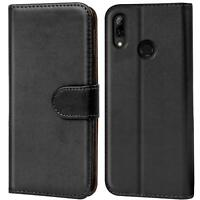 Handy Hülle Huawei P Smart 2019 Cover Schutz Tasche Slim Flip Case Bookcase