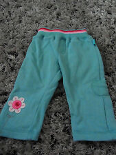 Baby Girl Pumpkin Patch Track suit Pants Blue & Pink Size 3-6 mths 0000/000 B22