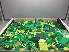 LEGO Bulk Bricks, Pieces, Parts Lot - Dark/Light/Olive Green, Plants 3+ pounds!