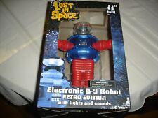 "Lost in Space 11"" tall Electronic B-9 Robot Retro Edition Diamond Toys Nib"