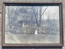 "1918 World War I, France? Soldiers Photo Framed Picture 15"" X 11"""