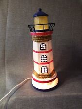 Cracker Barrel Decorative Nautical Lighthouse Accent Light *New*Great Detail*