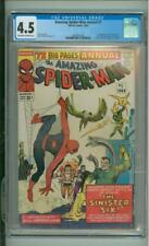 Amazing Spider-Man Annual #1 CGC 4.5 1st App Of The Sinister Six 1964