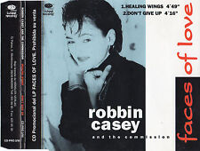 """ROBBIN CASSEY AND THE COMMISSION """"HEALING WINGS"""" RARE SPANISH PROMO CD SINGLE"""