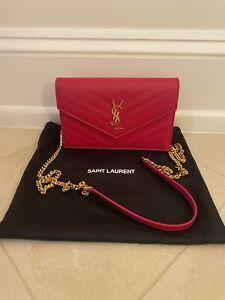 YSL Yves Saint Laurent Wallet On Chain