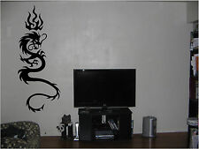 Tribal Art Dragon Wall Tattoo Wall Sticker Wall Art Decor Vinyl Decal Sticker