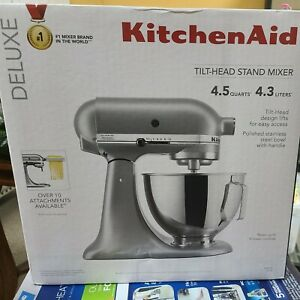 KitchenAid KSM97SL 4.5 qt Standalone Mixer - Silver Brand New In Box