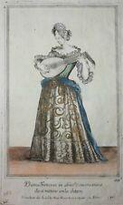 Arnold Van Westerhout Dama Francese con Chitarra La Dame française au Luth 1689