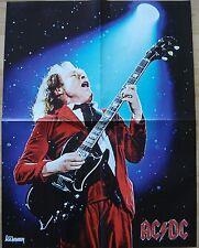 Angus Young [ AC/DC ]  /  Powerwolf  __  1 Poster /  Plakat  __  44,5 cm x 58 cm