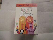 BABY EINSTEIN STAGE 2 - DVD 7 PACK 2007 - MFG. SEALED