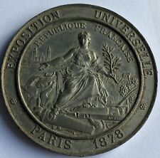 More details for french exposition universelle medal 46g - 52mm