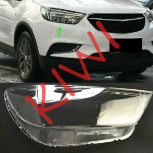 Right Side Headlight Cover Clear PC + Glue for Buick Encore 2016-2018