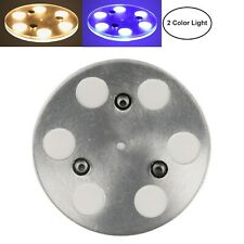 Facon 6-light Dimmable LED Round Ceiling Dome Light for RV Trailer Boat Camper