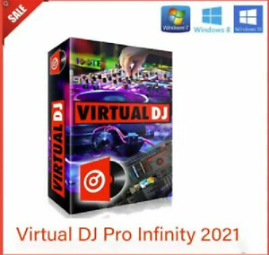Virtual DJ Pro Infinity 2021 Software Mixing Controller Version 8.5