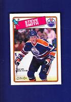 Steve Smith RC 1988-89 O-PEE-CHEE OPC Hockey #252 (NM+) Edmonton Oilers