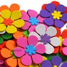 Pack of 40pcs Foam Flower Petal Nursery Kids Room Wall Decal Sticker Decor 5.5cm