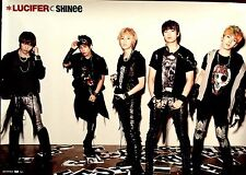 SHINEE - LUCIFER TYPE A PROMO POSTER - JAPAN POSTER