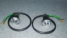 Fiat Coupe 16v 20v Turbo Side Indicator Repeater Lamp Clear X 2