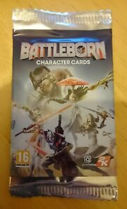 Battleborn Character Card Pack x 1 (Unopened) - PROMO - 2016 - 4 Cards Per Pack