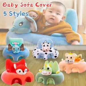 NEU Für Kinder Baby Stützsitz Sessel Sitzkissen Sofa Sitzsack Soft Plüsch Kissen