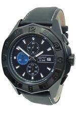 Esprit Uhr Uhren Herrenuhr Chronograph ES102841004 Leder Armband Markenuhr NEU